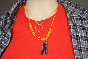 Beyond Two Souls Jodie necklace costume cosplay by AnyShapeNecklaces
