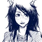 Vriska Sketch by kuri-chanXD