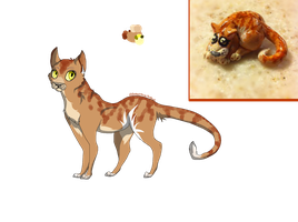 Cat/Clay Adopt (Open) by PreposterousPorpoise