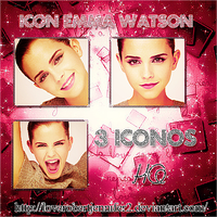 Packs Icon Emma Watson by LoveRobertJennifer2