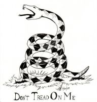 Don't Tread on Me by CrystalBlueDragon