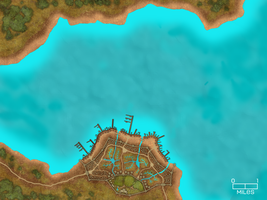 Ocean World 2- Tropical Islands Map- City 1 by WhoDrewThis