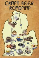 Michigan Craft Brewery Guide by rsholtis