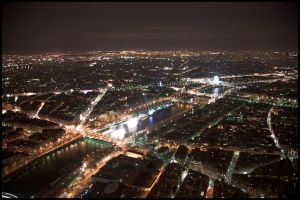 Paris by night - Ville Lumiere - 3 by lalas