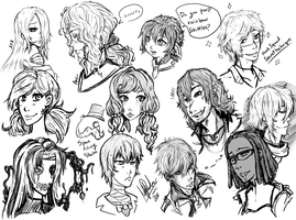 PA and Agents Head shots by Miha-Hime