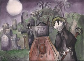 The Grave Robbers by MadameMochete