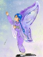 snow fairy with stars by Sori-Chan