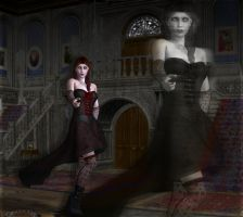 VampFashionShootHauntedMansion by webwenchginger
