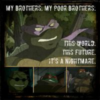 TMNT:: SAINW: it's a nightmare by Culinary-Alchemist