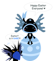 Happy Easter 11 by janelvalle