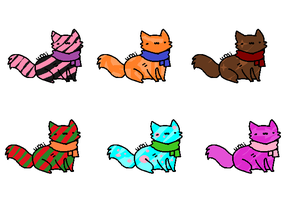 CATS (SOLD) by kibagirl135