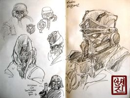 killzone2 sketchbook by sae85