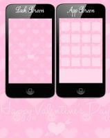 Valentine's Day Wallie - iPod iPhone 4G Previous by cupcakekitten20