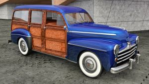 1948 Ford Woody Station Wagon by SamCurry