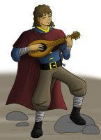 Character art: Bard by GlassMouse89