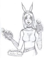 Chaotic Bunny by DitzyDM