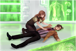 CM: Emily Kemper and the 11th Doctor by AurionPride