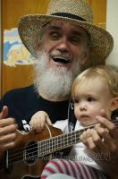 Papaw and Zan on Uke ID by slowdog294