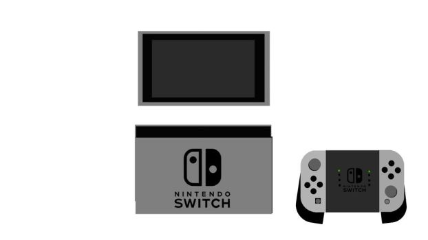 Nintendo-Switch and Dock by souldragnet