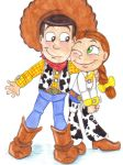 lil' woody and jessie by pookyhorse