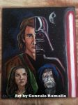 Star Wars painting by GonzRama87