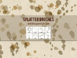 Splatter Brushes by xara24
