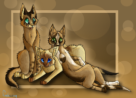 The troublesome trio by Finchwing