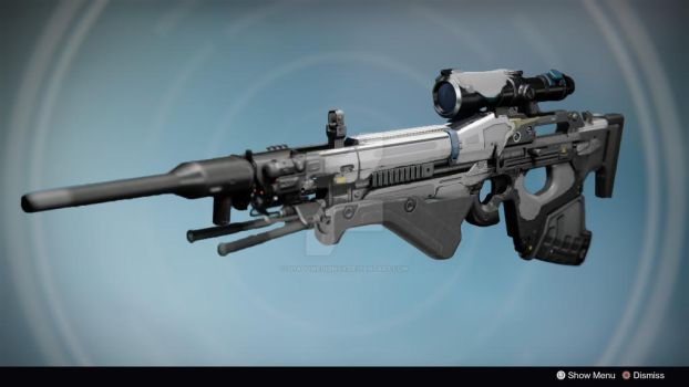 Heaven's Spear: Legendary/Exotic Sniper Rifle by shadowequinox