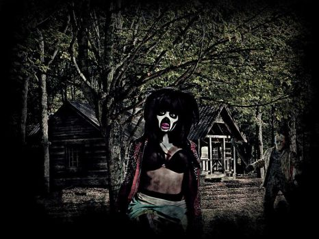 :The Cabin in the Woods on Friday the 13th: by Japarican-soulja