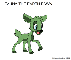 Fawn of Elements - Fauna the Earth Fawn by KelseyEdward