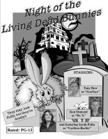Night of Living Dead Bunnies by VicDillinger