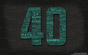 40 Tipografi by DMRGRAPHIX