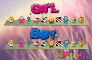 Skins Girl , Boy XWD 2.0.3.0 by starkiphy