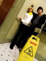 Caution -- In the Corner by GraceDragon013