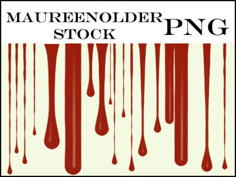 STOCK PNG drippy drips by MaureenOlder