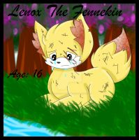 Lenox The Fennekin by TheCoolyArtist