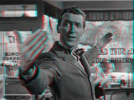 George Bailey 3-D conversion by MVRamsey