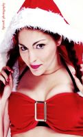 Little Red Santa Hood :P by Sylvia-Crystal