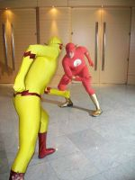 Flash vs Zoom by Bluebird0020