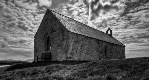 St Cwyfan's Church 1 by CharmingPhotography