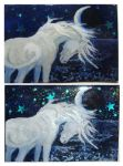 Unicorn ACEO by Ethereal-Beings