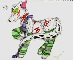 Demon Wolf by anime-gurl-4