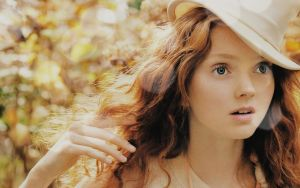 Lily Cole Wallpaper by giney-kill