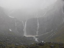 Milford Sound by EmberGryphon
