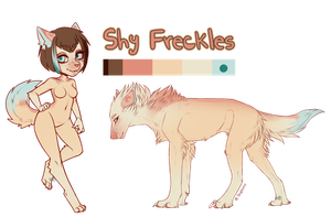 Shy Freckles Adopt [Closed] by WlTCHBlTCH
