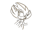 Fugly Shadow Sketch by Hellishly-Sweet