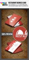 Restaurant Business Card by jasonmendes