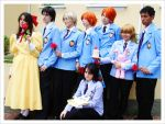Ouran Host Club 4 - Cosplay - by HaruchanFujioka
