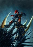 Scarlett symbiote by cric