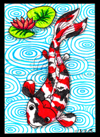 Koi ACEO 23 by Siobhan68
